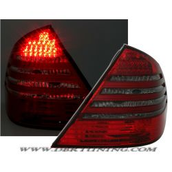 Taillight Led Mercedes E W211 berl.02-06 red-smoke