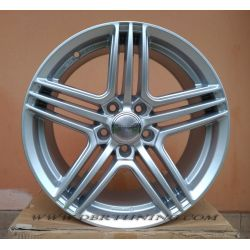 Alloy wheel WHEELWORLD WH12 Silver 17