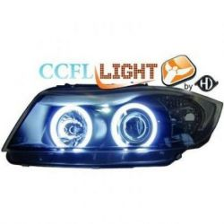 Fari Angel Eyes CCFL BMW 3 E90-91 05-08