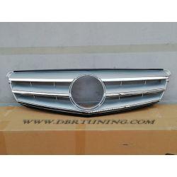 Grill Mercedes W204 Avantgarde 07-14 silver