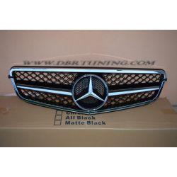 Grill Mercedes AMG C63 W204 07-14 chrome-black