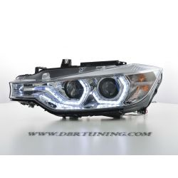 Headlights 3D LED Bmw F30 F31 11-15 chrome