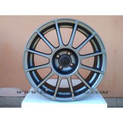 Alloy wheel look ABARTH SS Matt Antracite 17