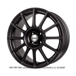 Alloy wheel look ABARTH SS Matt Black 17