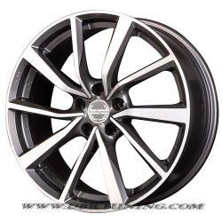 Wheel Tecnomagnesio SHAKE Antracite Polish 17