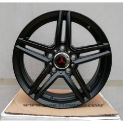 Alloy wheel RIAL M10 Matt Black 16
