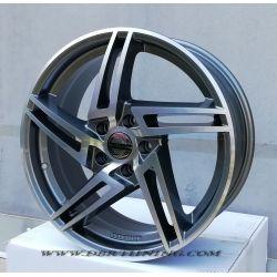 Alloy wheel Avus AF10 Anthracite polish 18