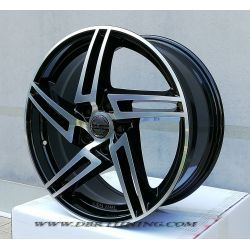 Alloy wheel Avus AF10 Black polish 18