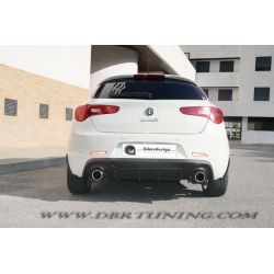 Lower rear diffuser double exaust Alfa Giulietta