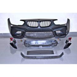 Front bumper look M2 BMW 1 F20 F21 15-