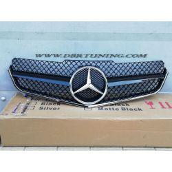 Calandra Mercedes E 207 AMG 09-13 nera-cromo