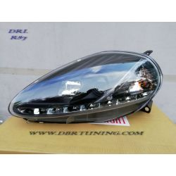 Taillights Daylight LED DRL Fiat G.PUNTO 08 black