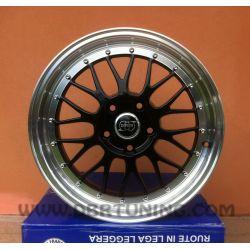Alloy wheel INFINY R1 Silver Lip Polish 17