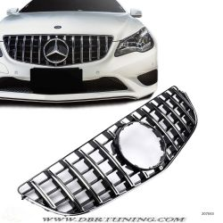 Grille Mercedes E 207 AMG 13-17 black chrome