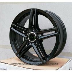 Alloy wheel RIAL M10 Matt Black 17