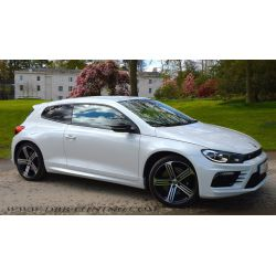 Side skirts VW SCIROCCO look R 08-14