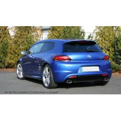 Rear bumper VW SCIROCCO look R 08-14
