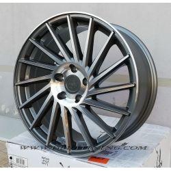 Alloy wheel KESKIN KT17 Palladium Polish 18
