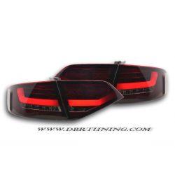Fanali Tube Led AUDI A4 B8 look 2012 per 07-11 rosso