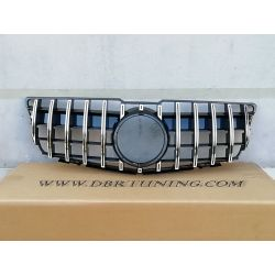 Grill AMG GTR Mercedes A W176 12-15 black chrome