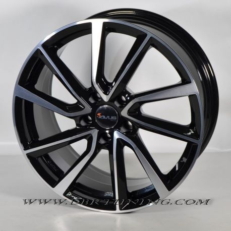 Alloy wheel Avus AC-518 Black Polish 17