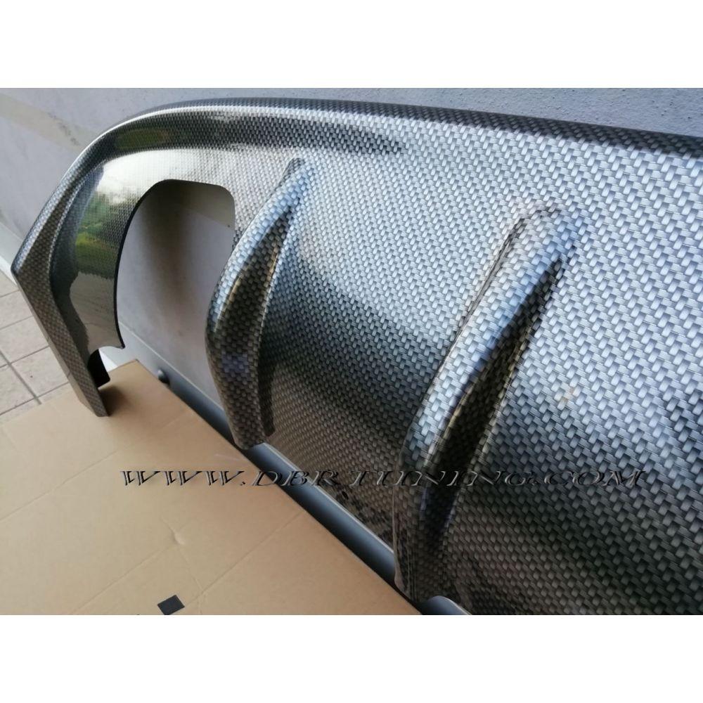 Rear diffuser AUDI A3 8P 08-12 - DBRTUNING