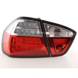 Fanali Led neon BMW 3 E90 05-08 rosso-chiaro