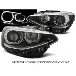 Headlights ANGEL EYES LED BMW F20 F21 11 -5 black