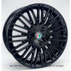 Alloy wheel 679 OEM Alfa Romeo 17 Glossy Black