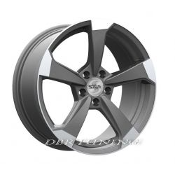 Alloy wheel SP50 Matt Anthracite Polish 18