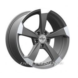 Alloy wheel SP50 Matt Anthracite Polish 19