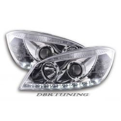 Headlights Daylight Led Mercedes W204 07-11