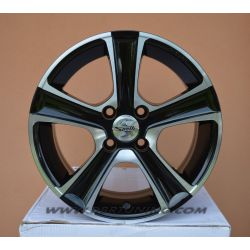 Alloy wheel SPATH SP18 Black polished 17