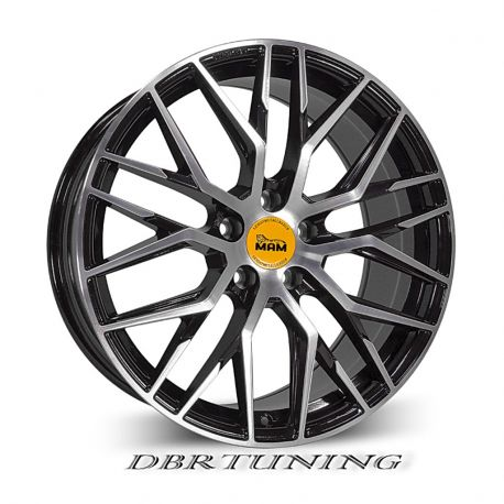 Alloy wheel MAM RS4 Glossy Black 18