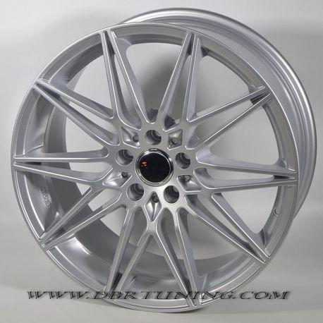 Alloy wheel AVUS AC-MB5 Hyper Silver 19