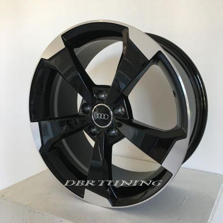 Alloy wheel SPATH SP50 Black Polish 18