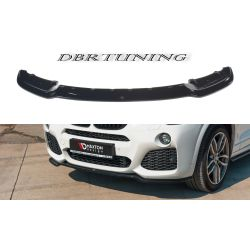 Front Spoiler MAXTON BMW X3 F25 14-17