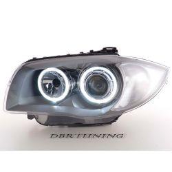 Headlights Angel Led Bmw 1 E81 E87 04-11 grey