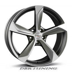 Alloy wheel BORBET S Brillant Silver 18