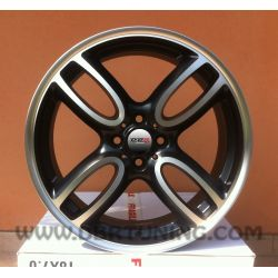 Alloy wheel Mini MISTRAL Black 17