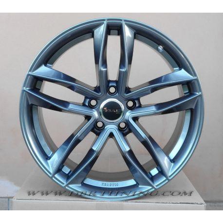 Alloy wheel AVUS AF16 Hyper Silver 17