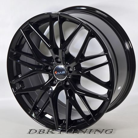 Alloy wheel AVUS AF19 Black 18