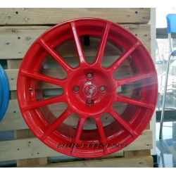 Alloy wheel look ABARTH SS White 17