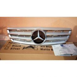 Calandra spor Mercedes C W203 00-07 silver-cromo