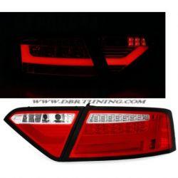 Fanali LED BAR AUDI A5 07-11 rosso ciliegia