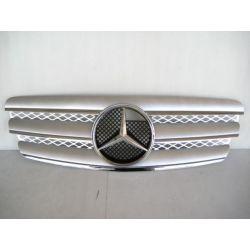 Calandra Mercedes W211 02-06 look CL silver-cromo