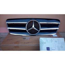 Calandra sportiva Mercedes CLK W208 97-02 nero-cromo