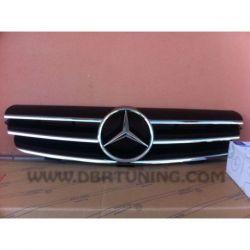 Calandra sportiva Mercedes CLK W209 02-09 nero-cromo