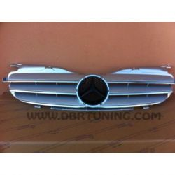 Calandra AMG Mercedes SLK 170 96-04 silver-cromo