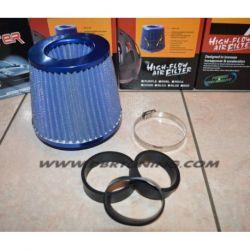Filtro aria sport conico MPH universale 127X150 blu